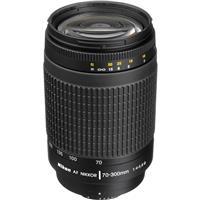 Image of Nikon 70-300mm f/4-5.6G AF Telephoto Zoom NIKKOR Lens with HB-26 Hood (Black) - U.S.A. Warranty