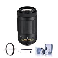Compare Prices Of  Nikon AF-P DX 70-300mm f/4.5-6.3G ED Lens USA Warranty w/Free Accessory Bundle (Filter Kit)