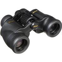 Image of Nikon 7x35 Aculon A211 Weather Resistant Porro Prism Binocular with 9.3 Degree Angle of View, Black