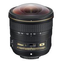 Image of Nikon 8-15mm f/3.5-4.5E EDIF AF-S Fisheye NIKKOR Lens - Nikon U.S.A. Warranty