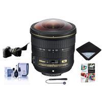 Image of Nikon 8-15mm f/3.5-4.5E EDIF AF-S Fisheye NIKKOR Lens - Nikon U.S.A. Warranty - Bundle With Flex Lens Shade, Lens Wrap, Cleaning Kit, Capleash II, Software Packages