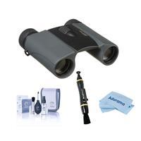 Image of Nikon 8x25 Trailblazer ATB Roof Prism Binocular, Black, Bundle with Accessory Kit