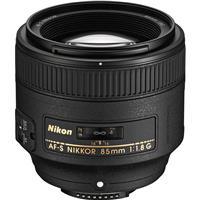 Image of Nikon 85mm f/1.8G AF-S FX NIKKOR Lens - U.S.A. Warranty