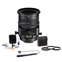 Image of Nikon PC-E NIKKOR 85mm f/2.8D Manual Focus Lens - U.S.A. Warranty - Accessory Bundle with 77mm Filter Kit, Lens Cap Leash, Professional Lens Cleaning Kit