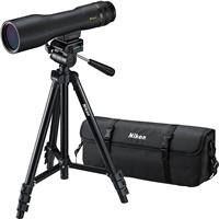 Image of Nikon 16-48x60mm Prostaff 3 Fieldscope Spotting Scope Outfit, Straight View, Waterproof