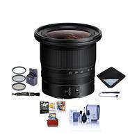 Image of Nikon NIKKOR Z 14-30mm f/4 S Ultra-Wide Zoom Lens - Bundle With 82mm Filter Kit, Lens Wrap, Cleaning Kit, Capleash II, Lens Cleaner, MAC Software Package