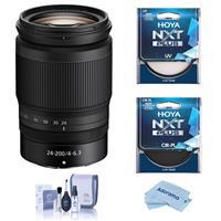 Image of Nikon NIKKOR Z 24-200mm f/4-6.3 VR Lens, Bundle with Filter Kit