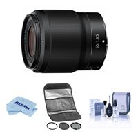 Compare Prices Of  Nikon NIKKOR Z 50mm f/1.8 S Lens for Z Series Mirrorless Cameras - With HOYA 62MM Digital Filter Kit II (UV/CPL/ND8x), Cleaning Kit, Microfiber Cloth,