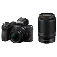Image of Nikon Z50 DX-Format Mirrorless Camera with NIKKOR Z DX 16-50mm f/3.5-6.3 VR & Z DX 50-250mm f/4.5-6.3 VR Lenses