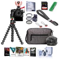 Nikon Z 50 Creator's Kit with Z 50 DX-Format Mirrorless Camera and NIKKOR Z DX 16-50mm f/3.5-6.3 VR Lens - Bundle With 64GB SDXC Card, Peak Camera Cuff Wrist Strap, Screen Protector, PC Software, More
