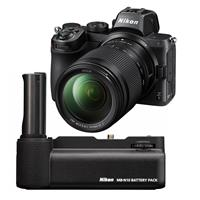 Image of Nikon Z5 Full Frame Mirrorless Camera with NIKKOR Z 24-200mm f/4-6.3 VR Zoom Lens - Bundle with Nikon MB-N10 Multi Battery Power Pack