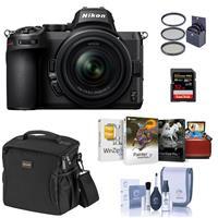 Image of Nikon Z5 Full Frame Mirrorless Camera with 24-50mm Zoom Lens - Bundle with 32GB SDHC Card, Slinger Shoulder Bag, Mac Software Package, 52mm Filter Kit, Cleaning Kit
