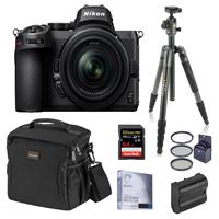Compare Prices Of  Nikon Z5 Full Frame Mirrorless Camera with NIKKOR Z 24-50mm f/4-6.3 Lens, Bundle with Vanguard VEO 2 Aluminum Tripod