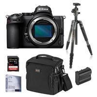 Image of Nikon Z5 Full Frame Mirrorless Camera Body, Bundle with Vanguard VEO 2 Aluminum Tripod