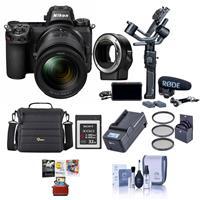 Nikon Z 6 24.5MP FX-Format Mirrorless Camera Filmmaker's Kit With Free Mac Accesory Bundle