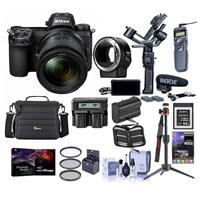 Nikon Z 6 24.5MP FX-Format Mirrorless Camera Filmmaker's Kit With Premium Accessory Bundle