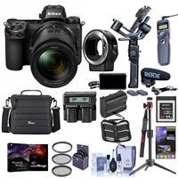 Nikon Z 6 24.5MP FX-Format Mirrorless Camera Filmmaker's Kit With Pro Accessory Kit