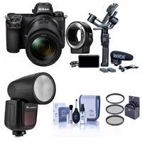 Nikon Z 6 24.5MP FX-Format Mirrorless Camera Filmmaker's Kit With Accessories