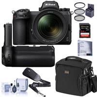 Compare Prices Of  Nikon Z 6II Mirrorless Digital Camera Body Bundle with Nikon MB-N11 Multi Battery Power Pack, 64GB SD Card, Bag, Screen Protector and Accessories