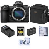 Image of Nikon Z 6II Mirrorless Digital Camera Body Bundle with 128GB CFexpress Type-B Memory Card, Bag, Extra Battery, Charger and Accessories
