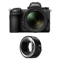 Image of Nikon Z 6II Mirrorless Digital Camera with NIKKOR Z 24-70mm f/4 S Lens Bundle with Nikon FTZ Mount Adapter