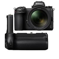 Image of Nikon Z 6II Mirrorless Digital Camera with NIKKOR Z 24-70mm f/4 S Lens - with Nikon MB-N11 Multi Battery Power Pack with Vertical Grip