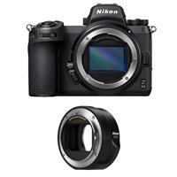 Image of Nikon Z 6II Mirrorless Digital Camera - Bundle With Nikon Mount Adapter FTZ