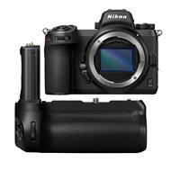 Image of Nikon Z 6II Mirrorless Digital Camera - with Nikon MB-N11 Multi Battery Power Pack with Vertical Grip