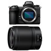 Image of Nikon Z7 FX-Format Mirrorless Camera Body - With Nikon NIKKOR Z 35mm f/1.8 S Lens
