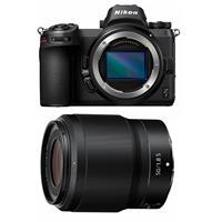 Image of Nikon Z7 FX-Format Mirrorless Camera Body - With Nikon NIKKOR Z 50mm f/1.8 S Lens
