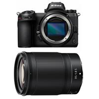 Image of Nikon Z7 FX-Format Mirrorless Camera Body - With Nikon NIKKOR Z 85mm f/1.8 S Lens