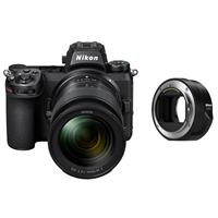 Image of Nikon Z 7II Mirrorless Digital Camera with NIKKOR Z 24-70mm f/4 S Lens - Bundle with FTZ Mount Adapter