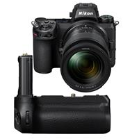Image of Nikon Z 7II Mirrorless Digital Camera with NIKKOR Z 24-70mm f/4 S Lens - with Nikon MB-N11 Multi Battery Power Pack with Vertical Grip