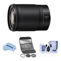 Image of Nikon NIKKOR Z 85mm f/1.8 S Lens for Z Series Mirrorless Cameras - With HOYA 67MM Digital Filter Kit II (UV/CPL/ND8x), Cleaning Kit, Microfiber Cloth,