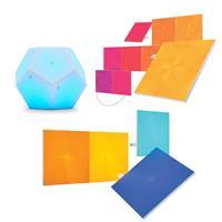 Compare Prices Of  Nanoleaf Canvas Smarter Kit with 9 Multicolor Light Squares - With 2 Pack Nanoleaf Canvas Expansion Pack with 4x Multicolor Light Squares, Nanoleaf Remote for Light Panel