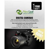 Image of New Leaf PLUS - 1 Year Digital Camera Service Plan with Accidental Damage Coverage (for Drops & Spills) for Products Retailing up to $500.00