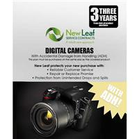 Image of New Leaf PLUS - 3 Year Digital Camera Service Plan with Accidental Damage Coverage (for Drops & Spills) for Products Retailing up to $15,000.00