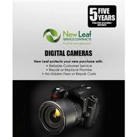 Image of New Leaf 5 Year Digital Camera Service Plan for Digital Cameras Retailing up to $6500.00
