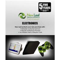 Image of New Leaf 5 Year Electronics Service Plan for Products Retailing up to $750.00