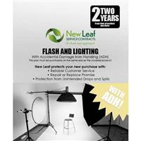 Image of New Leaf PLUS - 2 Year Flash & Lighting Service Plan with Accidental Damage Coverage (for Drops & Spills) for Products Retailing up to $500.00