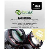 Image of New Leaf PLUS - 1 Year Camera Lens Service Plan with Accidental Damage Coverage (for Drops & Spills) for Products Retailing up to $500.00