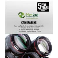 Compare Prices Of  New Leaf 5 Year Camera Lens Service Plan for Products Retailing up to $5000.00