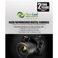 Image of New Leaf 2 Year Used / Refurbished Digital Camera Service Plan for Products Retailing up to $10,000.00