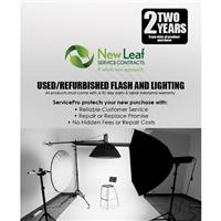 Image of New Leaf 2 Year Warranty for Used & Refurbished Flash & Lighting Under $750