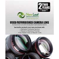 Image of New Leaf 2 Year Used / Refurbished Camera Lens Service Plan for Products Retailing up to $10,000.00