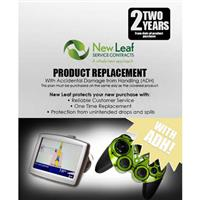 Image of New Leaf PLUS - 2 Year Replacement Plan with Accidental Damage Coverage (for Drops & Spills) for Products Retailing up to $50.00