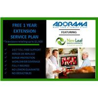 New Leaf 1 Year Extensions Service Plan for Televisions Retailing up to $1500.00