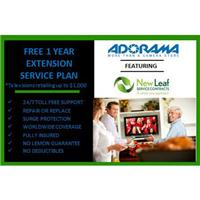 New Leaf 1 Year Extensions Service Plan for Televisions Retailing up to $1000.00