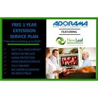 New Leaf 1 Year Extension Service Plan for Televisions Retailing up to $500.00