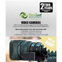Image of New Leaf PLUS - 2 Year Video Camera Service Plan with Accidental Damage Coverage (for Drops & Spills) for Products Retailing up to $20,000.00